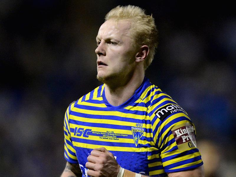 Rhys Evans' late score helped Warrington Wolves to victory over Huddersfield (Getty)