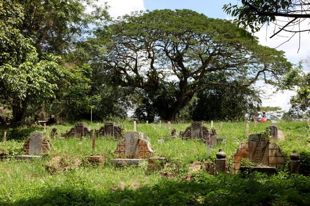 The 90-year-old cemetery houses about 100,000 graves, many belonging to Singapore's pioneering immigrants and war heroes.