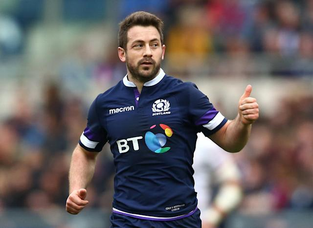 Rugby Union - Six Nations Championship - Italy vs Scotland - Stadio Olimpico, Rome, Italy - March 17, 2018 Scotland's Greig Laidlaw reacts REUTERS/Alessandro Bianchi