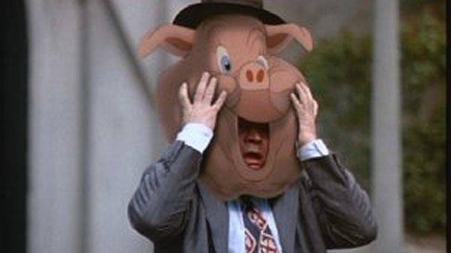 <p> <strong>What Was Cut:&#xA0;</strong>A nightmare of a scene. After Judge Doom (Christopher Lloyd) sends Eddie Valiant (Bob Hoskins) to Toontown, he removes a sack from Eddie&apos;s head and reveals that Eddie now has a cartoon pig&apos;s face over his own. </p> <p> One turpentine shower later and Eddie&apos;s back to normal. Close shave&#x2026; </p> <p> <strong>If It Had Stayed In:&#xA0;</strong>The film would have been even more terrifying than before. And it&apos;s already brilliant horrific. </p>
