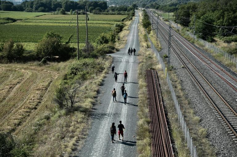 Four years after the evacuation of the Idomeni camp, many refugees and immigrants choose the same route again