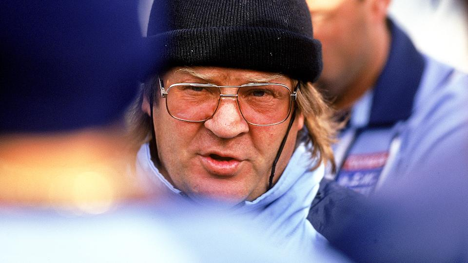 Tommy Raudonikis, pictured here during NSW State of Origin camp in 1997.