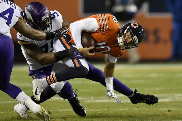 The Minnesota Vikings' defense has done a solid job thus far