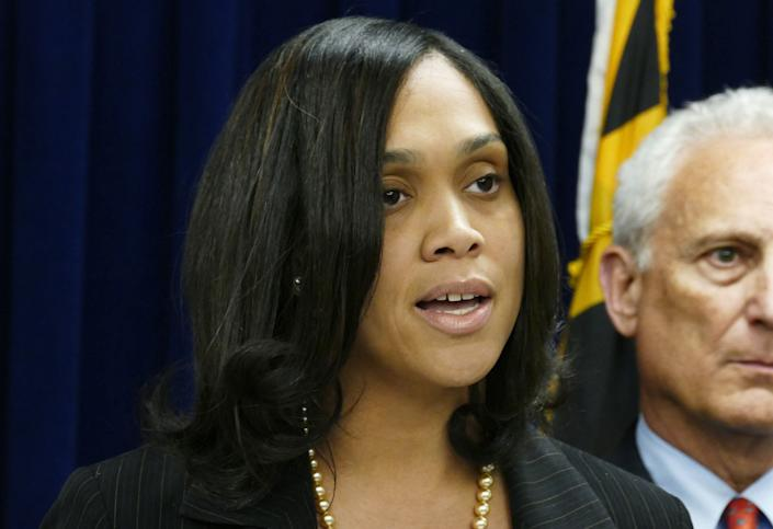 "Shortly after her election as the youngest chief prosecutor in any major city, Mosby was assigned to investigate the death of Freddie Gray, a 25-year-old black man who died while in Baltimore police custody. Mosby <a href=""http://www.stattorney.org/media-center/press-releases/731-marilyn-mosby-announces-indictments-of-the-six-baltimore-police-officers-involved-in-the-freddie-gray-arrest"" rel=""nofollow noopener"" target=""_blank"" data-ylk=""slk:announced charges"" class=""link rapid-noclick-resp"">announced charges</a> for six police officers in May, marking a dramatic change from how similar cases had been handled in other cities. While the legal proceedings are still ongoing, Mosby has become a folk hero of sorts, impressing the country with her tough, straightforward approach to the case."