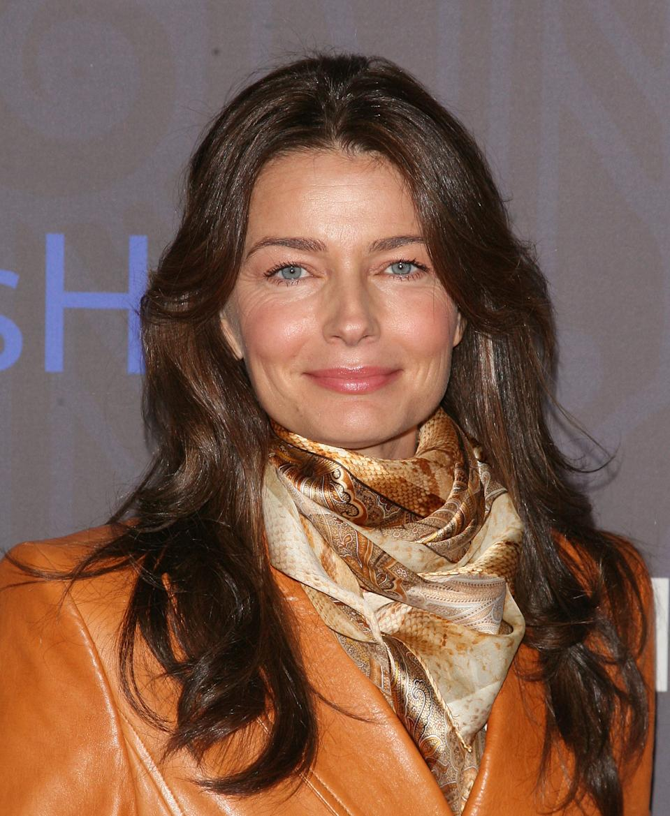 Paulina Porizkova suggested that she's open to finding love again. (Photo: Jim Spellman/WireImage)