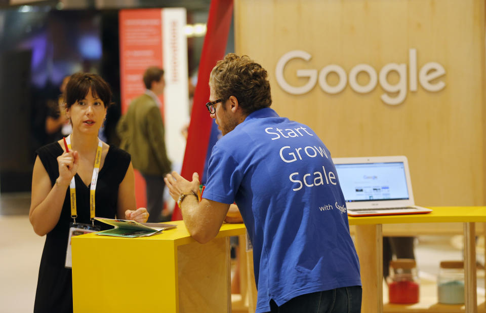Tech training from Google will be available for 9,500 people. Photo: Chesnot/Getty Images