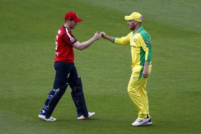Aaron Finch (right) and Eoin Morgan (left) are ready to go head to head again in 50-over cricket.