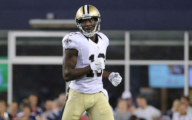 """The fantasy spotlight is beaming on rookie <a class=""""link rapid-noclick-resp"""" href=""""/nfl/players/26265/"""" data-ylk=""""slk:Michael Thomas"""">Michael Thomas</a>. (Getty)"""