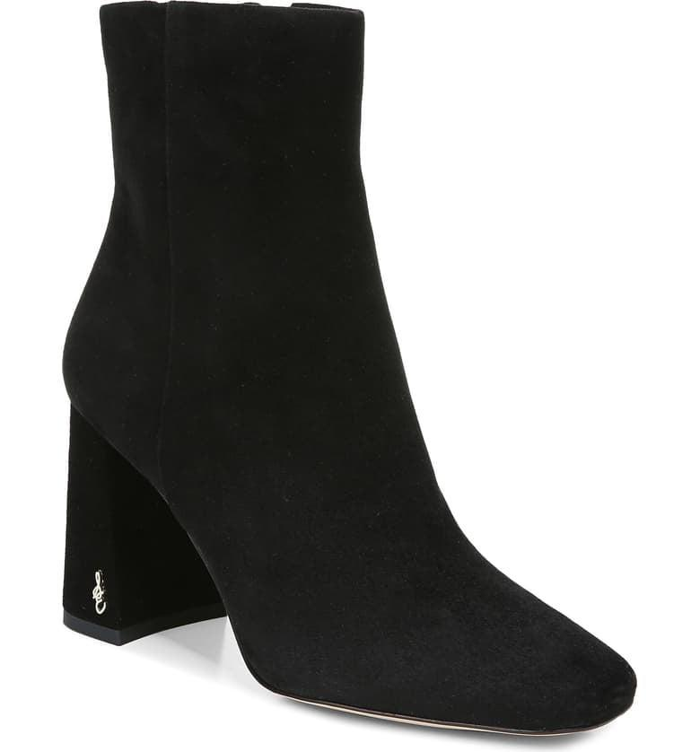 <p>These <span>Sam Edelman Codie Square Toe Booties</span> ($100, originally $150) are easy to dress both up and down.</p>