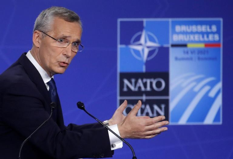 NATO Secretary General Jens Stoltenberg said the allies would seek to cooperate with China on global issues