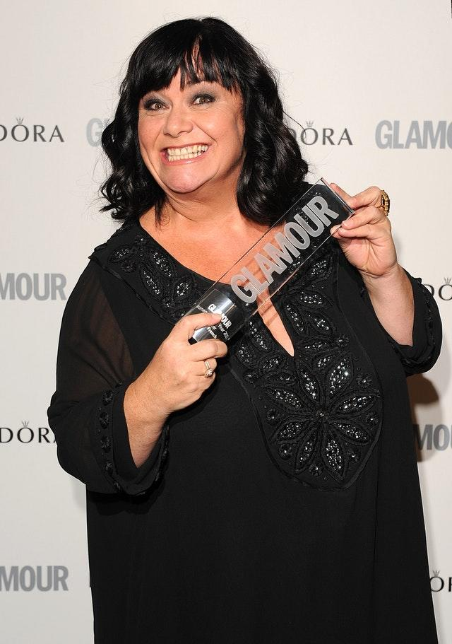 Dawn French is one of the stars of the Christmas schedule