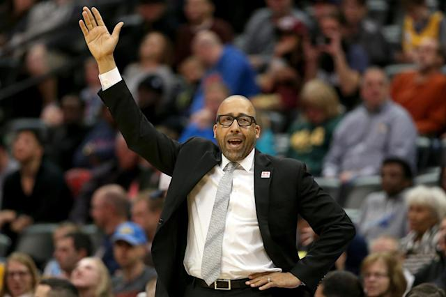Coach David Fizdale, who has been fired by the Memphis Grizzlies (AFP Photo/MATTHEW STOCKMAN)