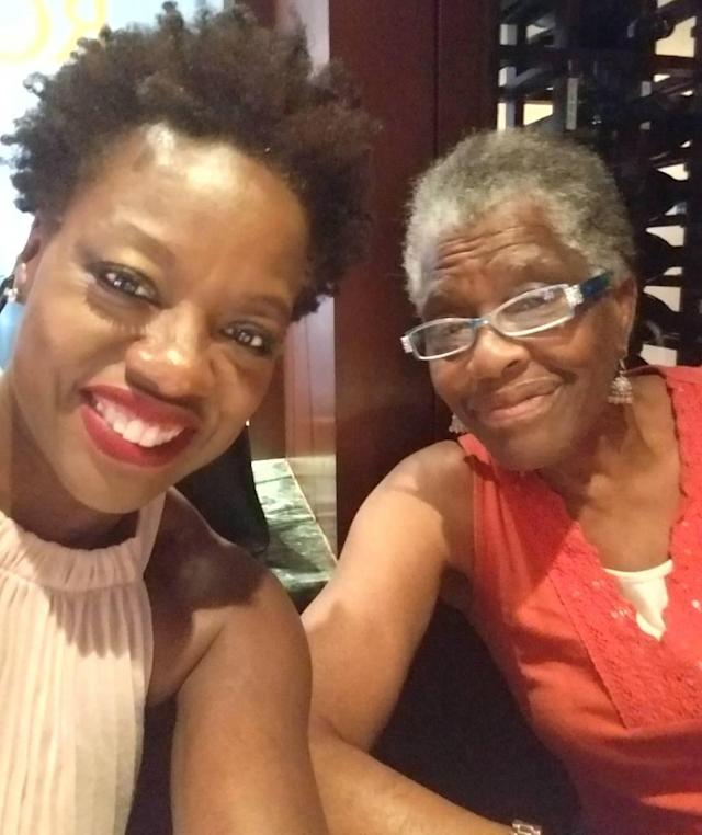 "<p>The Oscar winner has nothing but love for her mama: ""<span title=""Edited"">Happy Mother's Day!!! To the biggest sacrificers, dream protectors, multi taskers, caretakers, short order cooks prayer warriors….to Mae Alice, my mama….love to you today."" </span>(Photo: <a href=""https://www.instagram.com/p/BUFCfoHgeNr/"" rel=""nofollow noopener"" target=""_blank"" data-ylk=""slk:Viola Davis via Instagram"" class=""link rapid-noclick-resp"">Viola Davis via Instagram</a>) </p>"