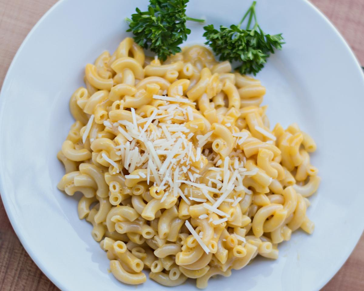 "<p>For those of us that devoured Kraft Dinner as a staple while students (or just because we loved it) you are in luck. If you're vegan, or just looking for an alternative to dairy, there's no need to ditch the dish. If you are in a rush <a rel=""nofollow"" href=""http://daiyafoods.com/our-foods/cheezy-mac/deluxe-cheddar-style/"">Daiya Cheezy Mac</a> will satisfy your craving and everything you need is in one box. If you are feeling creative, grab your favourite pasta, non-dairy milk, margarine and creamy <a rel=""nofollow"" href=""http://fieldroast.com/product/chao-slices/"">Chao cheese slices</a> made from coconut milk. If you pop Chao slices in the freezer for five minutes they become chilled and you can grate them so they shred to melt into a yummy cheese sauce over cooked noodles. <i>(Photo by Getty Images)</i> </p>"