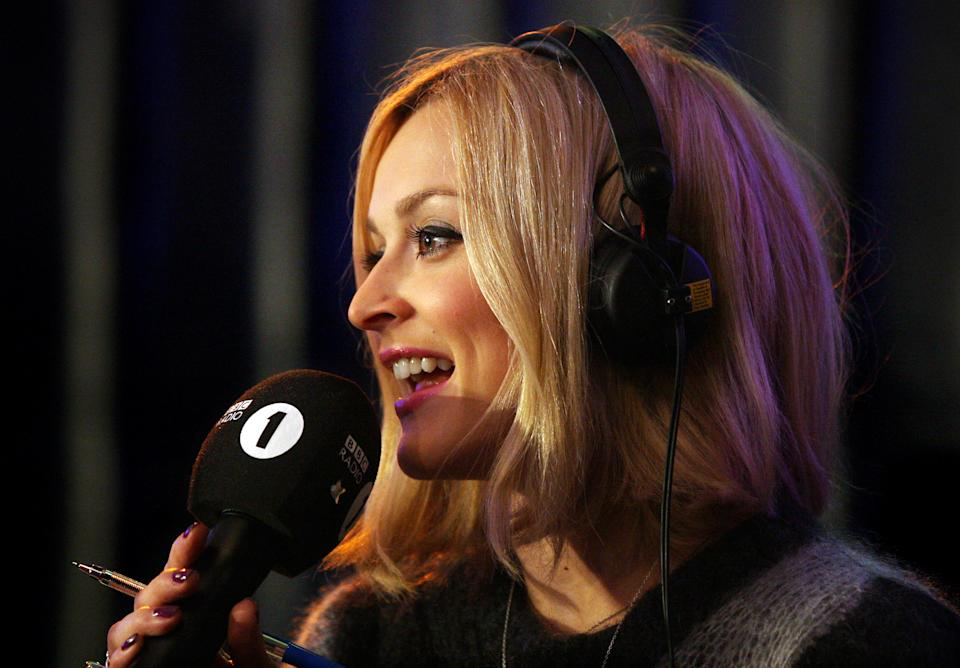 BBC Radio 1 Presenter Fearne Cotton presents her show from the Blue Bar at the University of East Anglia (UEA) in Norwich as part of Radio 1's Student Tour with special guest performance from Coldplay.   (Photo by Chris Radburn/PA Images via Getty Images)