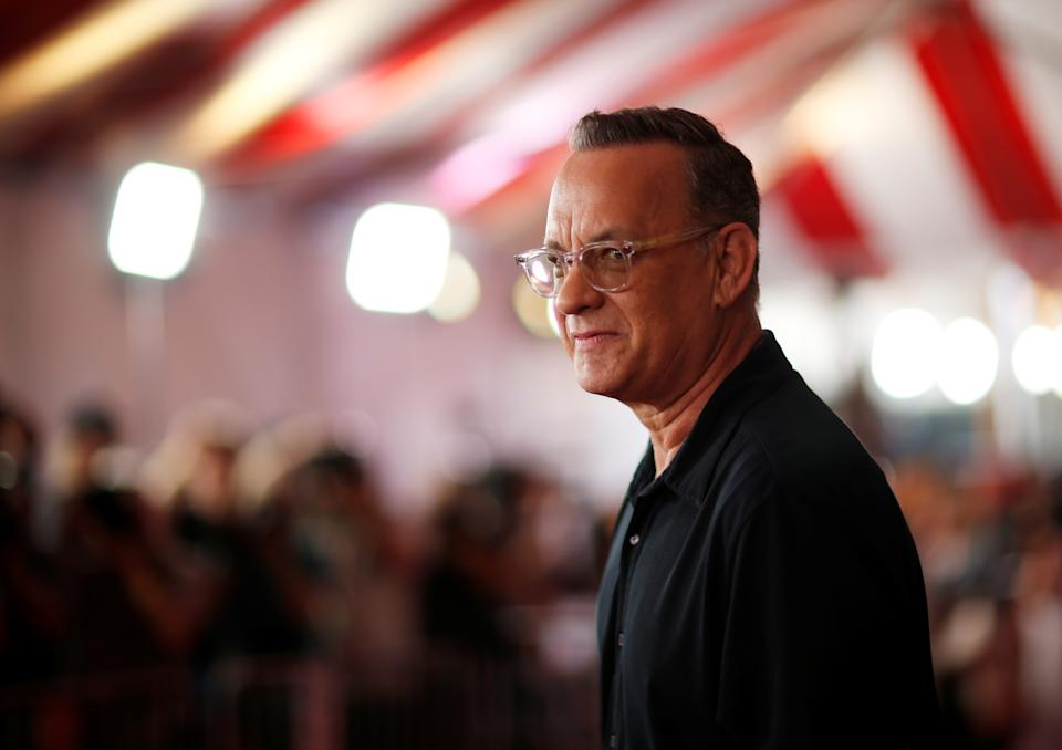 """Actor Tom Hanks attends the premiere for """"Toy Story 4"""" in Los Angeles, California, U.S., June 11, 2019. REUTERS/Mario Anzuoni"""