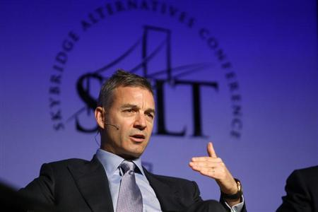 Loeb, founder of Third Point LLC, participates in a panel discussion during the Skybridge Alternatives Conference in Las Vegas