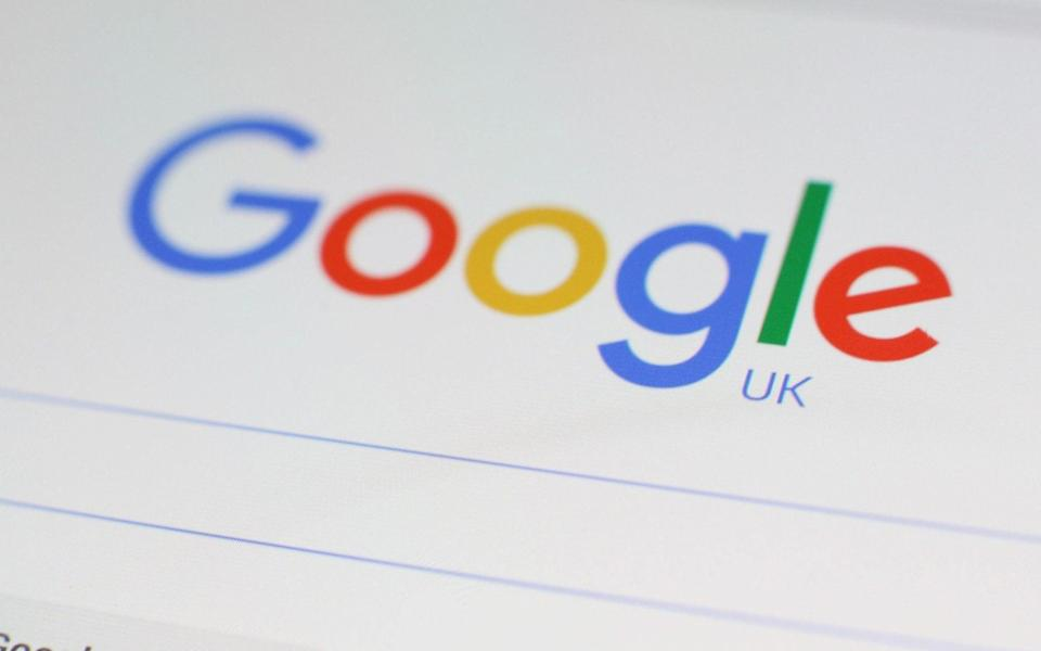 """File photo dated 27/01/16 of a Google logo on the screen of a mobile phone. So-called """"Dr Google"""" can have a positive impact on a relationship between a GP and their patient, a new study suggests. PRESS ASSOCIATION Photo. Issue date: Wednesday May 17, 2017. Performing online searches for health information - colloquially known as using """"Dr Google"""" - leads to a better mutual understanding of symptoms and diagnosis between a patient and their GP, a new research paper found. See PA story HEALTH Searches. - Yui Mok/PA Wire"""