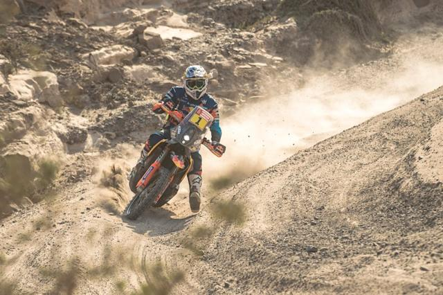 "#1 Red Bull KTM Factory Racing KTM: Matthias Walkner <span class=""copyright"">Red Bull Content Pool</span>"