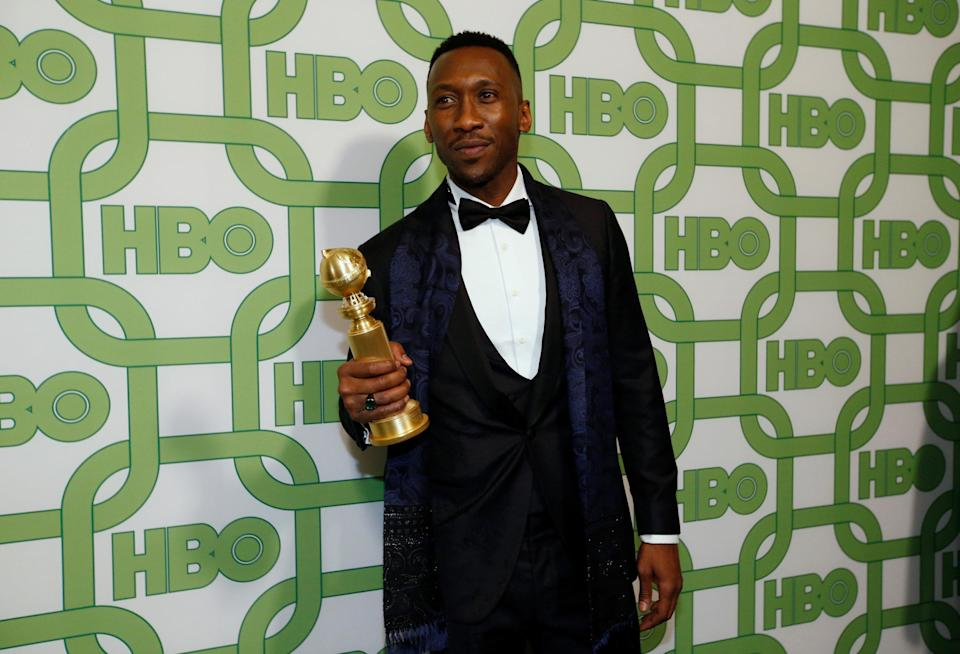 HBO Golden Globes After Party – Arrivals – Beverly Hills, California, U.S., January 6, 2019 – Mahershala Ali, winner of Best Supporting Actor – Motion Picture. REUTERS/Mario Anzuoni