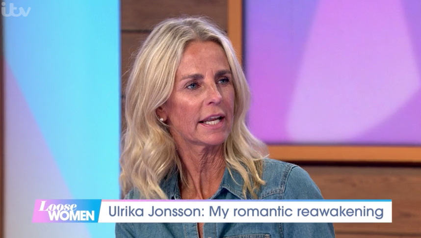 Ulrika Jonsson opened up on her love life on Loose Women. (ITV)