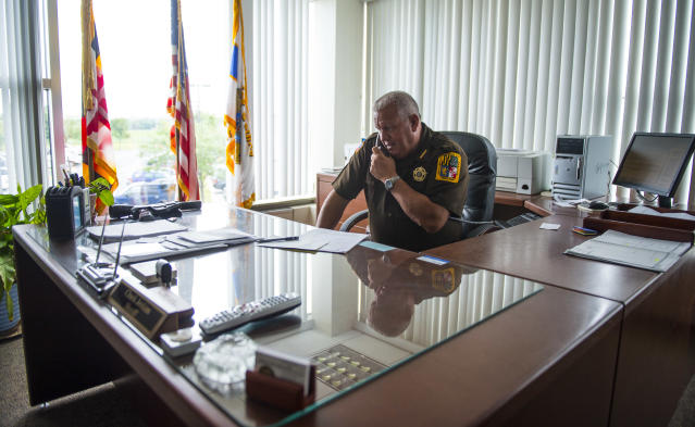 Sheriff Chuck Jenkins of Frederick County, Md. (Photo: Ricky Carioti/Washington Post via Getty Images)