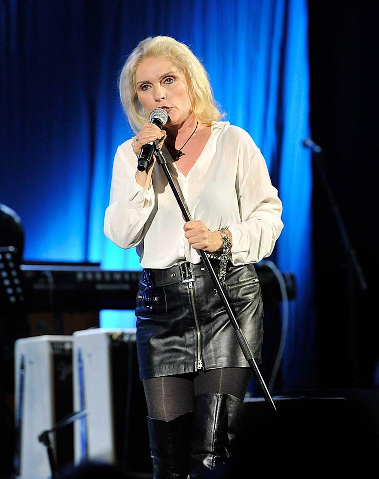 "Blondie's Debbie Harry turns 66 Gareth Cattermole/<a href=""http://www.gettyimages.com/"" target=""new"">GettyImages.com</a> - January 13, 2011"