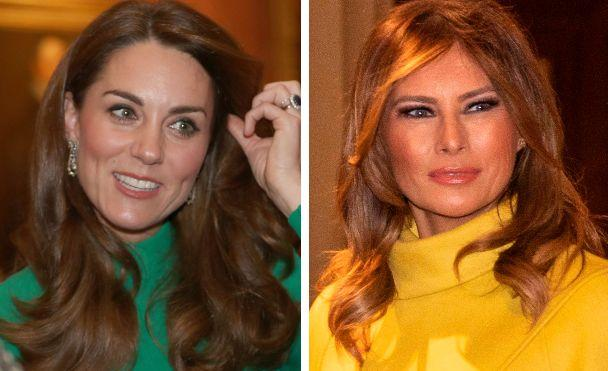 Kate Middleton, Melania Trump