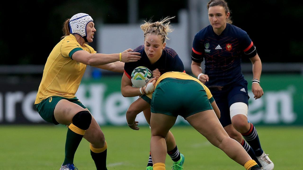 The Wallaroos are winless at the women's rugby union World Cup after a 48-0 loss to France