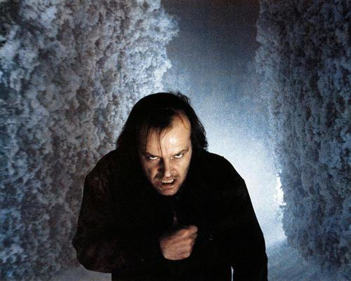 Scene from The Shining