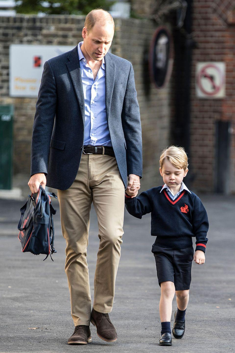 """<p>This year, Prince George will simply be known as <a href=""""https://www.marieclaire.com.au/what-classmates-will-call-prince-george"""" rel=""""nofollow noopener"""" target=""""_blank"""" data-ylk=""""slk:George Cambridge"""" class=""""link rapid-noclick-resp"""">George Cambridge</a><span class=""""redactor-invisible-space"""">. </span></p>"""