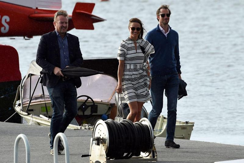 Pippa and James took the same trip to the Cottage Point Inn. Photo: Getty