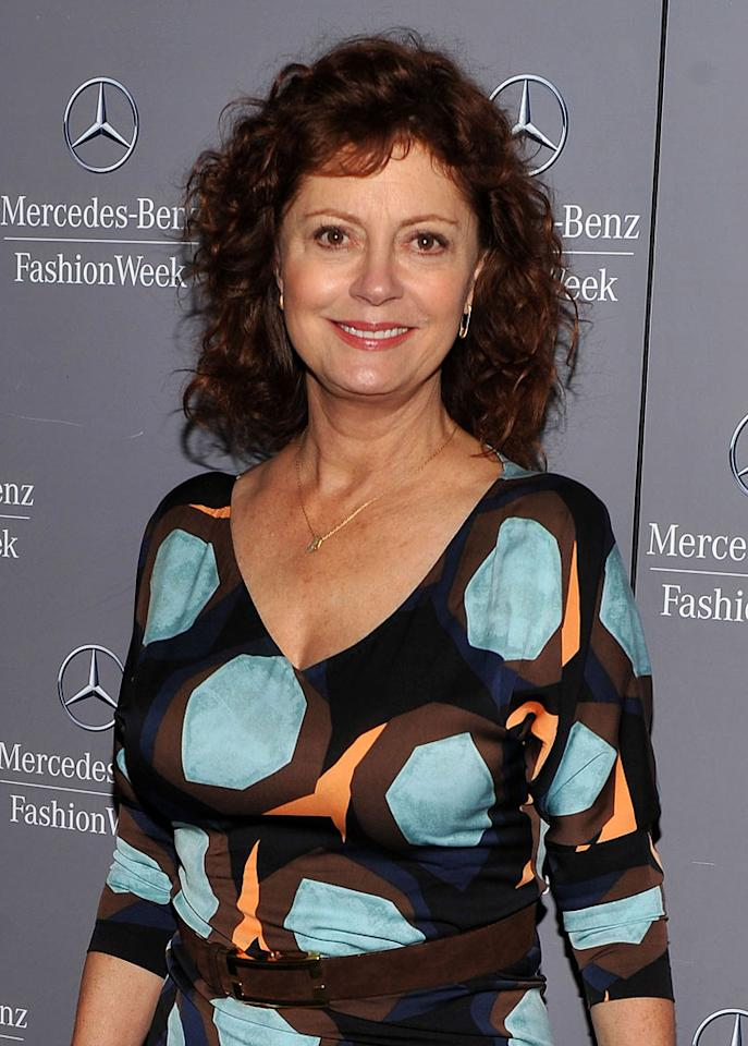 "Susan Sarandon turns 65. Stephen Lovekin/<a href=""http://www.gettyimages.com/"" target=""new"">GettyImages.com</a> - September 11, 2011"