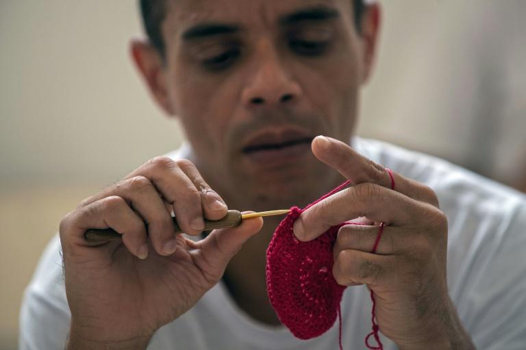 About 120 inmates have worked under designer Gustavo Silvestre in the Ponto Firme (Strong Stitch) project over the last two and a half years