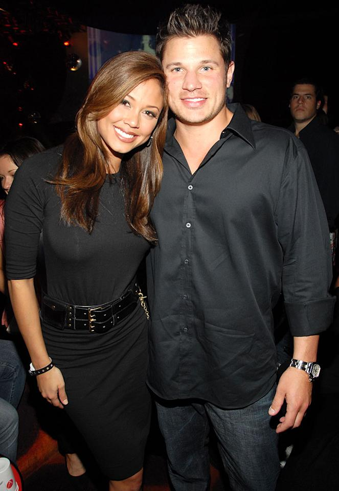 "Will there be a ""Newlyweds 2"" for Nick Lachey and his lady love Vanessa Minnillo? Kevin Mazur/<a href=""http://www.wireimage.com"" target=""new"">WireImage.com</a> - February 9, 2007"