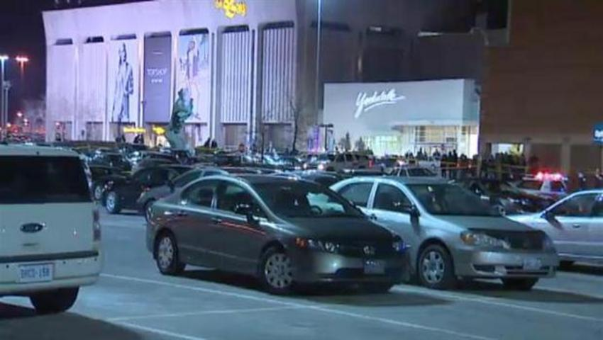 Toronto police were called to Yorkdale Shopping Centre after one man was killed and a second injured in a shooting.