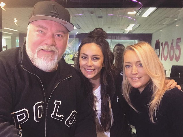 Image of Kyle Sandilands, Amy Shark, Jackie O Henderson on Kiis FM interview