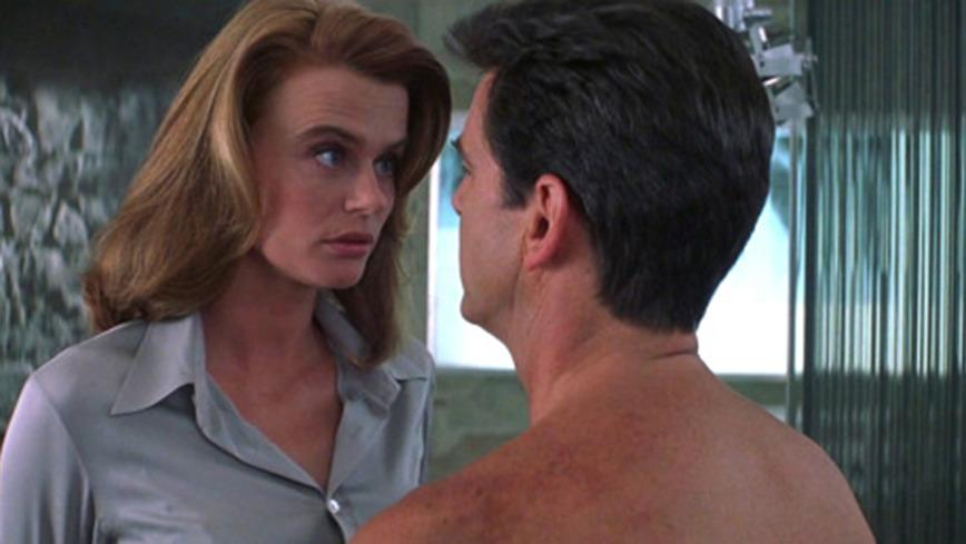 <p>Serena Scott Thomas, 'The World is Not Enough' (1999)</p><p>The British actress played Dr. Molly Warmflash, the MI6 doctor who's supposed to vouch for Bond's health. Bond, of course, has other things in mind.</p>