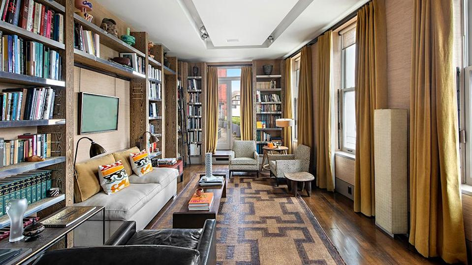 The library. - Credit: Photo: MW Studio/Michael Weinstein for The Corcoran Group