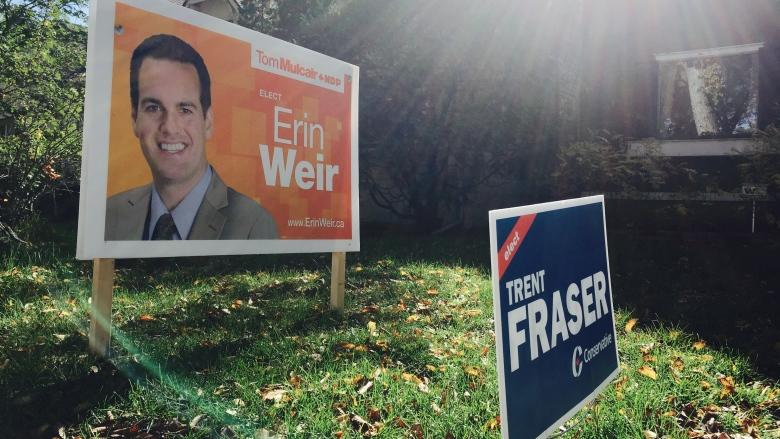 Signed up: Why some lawns display multiple party signs