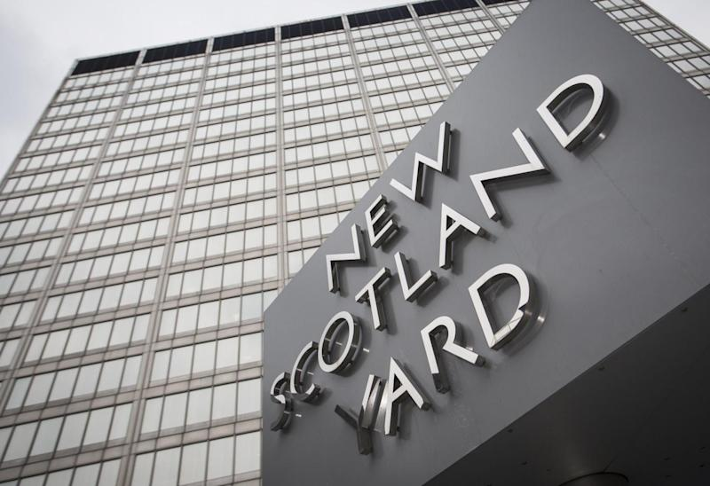 Scotland Yard said it was aware of the letter (AFP/Getty Images)