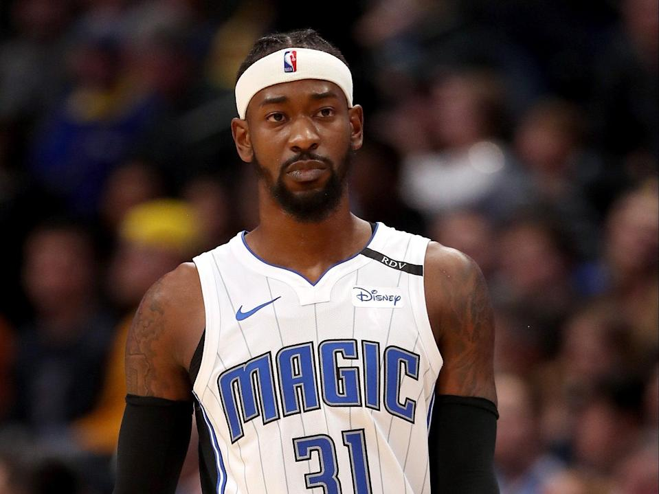 <p>Terrence Ross #31 of the Orlando Magic plays the Denver Nuggets at the Pepsi Center on 23 November, 2018 in Denver, Colorado</p> (Getty Images)