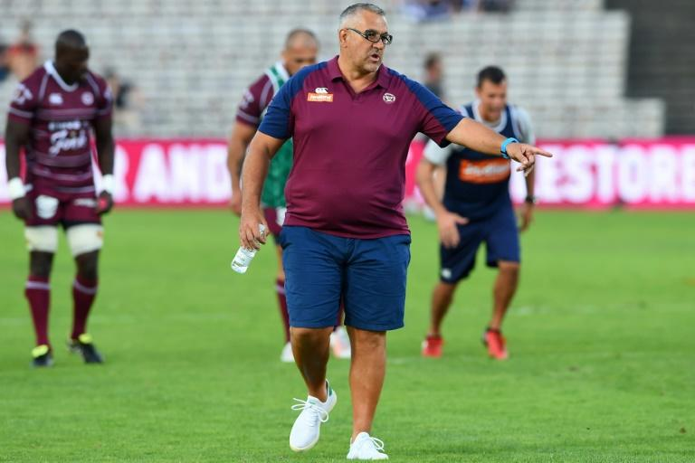 Bordeaux-Begles head coach Christophe Urios won the Top 14 title with Castres in 2018
