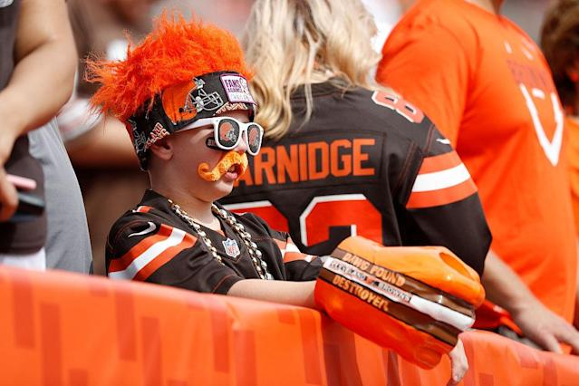 "The <a class=""link rapid-noclick-resp"" href=""/nfl/teams/cle/"" data-ylk=""slk:Cleveland Browns"">Cleveland Browns</a> haven't known much success over the past decade or so, but this team might just be on the rise. <br>(Photo by Joe Robbins/Getty Images)"