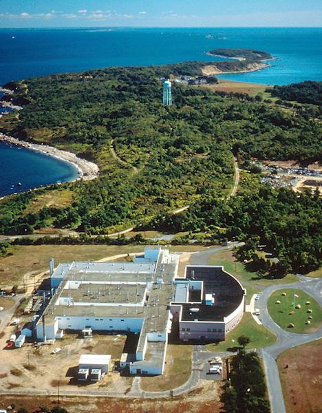 In this undated photo provided by the Agricultural Research Service of the Department of Agriculture, Plum Island Animal Disease Center, off the coast of New York's Long Island, is shown. The future of the mysterious island where infectious animal diseases have been studied since the 1950s is about to gain renewed focus. One federal agency is preparing a final report on Plum Island's proposed sale at the same time Long Island officials consider new zoning laws that will prevent any significant development of the 843-acre property should it be sold. (AP Photo/ARS-USDA)