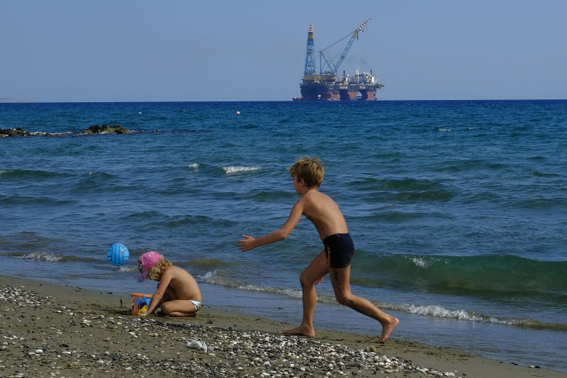 Cyprus says drilling indicates potentially big gas deposit