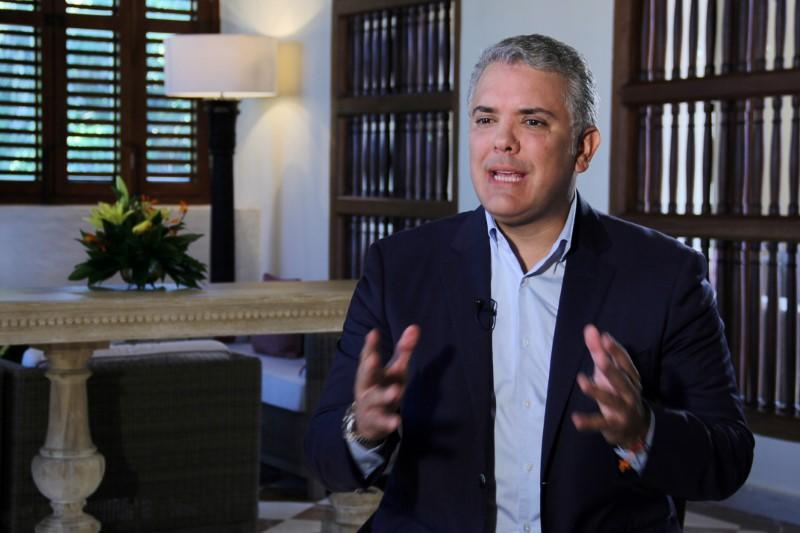 Coca eradication best way to fight violence in Colombia, Duque says