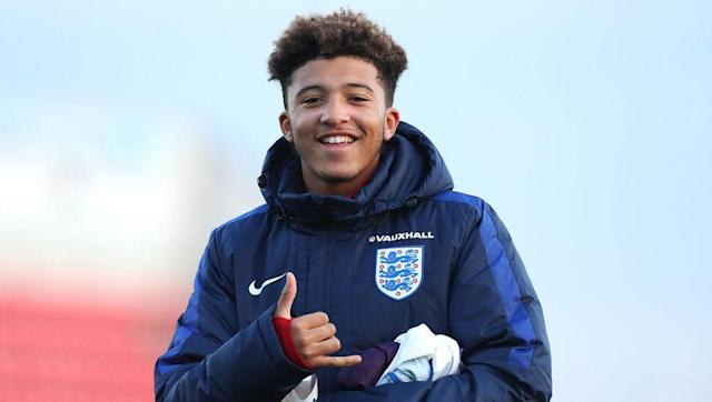 <p><strong>Born: </strong>25th March 2000</p> <br><p>Jadon Sancho took the plunge last month and left Manchester City's Under-18 team for the offer of a first-team place at Borussia Dortmund in a transfer reported to be worth £8m.</p> <br><p>The rising England junior star was immediately assigned the number seven shirt vacated by Ousmane Dembele after his €105m move to Barcelona and will look to make his senior debut soon after an initial run with Borussia Dortmund II.</p>