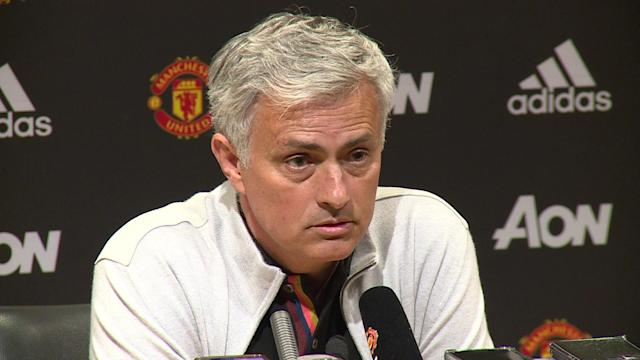 Jose talking about moving forwards with his coaching staff