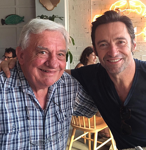 "<p>Hugh Jackman's dad, Christopher, is just as cute as the movie star is. ""Happy Father's Day to all,"" wrote the Aussie actor, who has two kids of his own. (Photo: <a href=""https://www.instagram.com/p/BVeP4HNj5pX/?taken-by=thehughjackman"" rel=""nofollow noopener"" target=""_blank"" data-ylk=""slk:Hugh Jackman via Instagram"" class=""link rapid-noclick-resp"">Hugh Jackman via Instagram</a>) </p>"